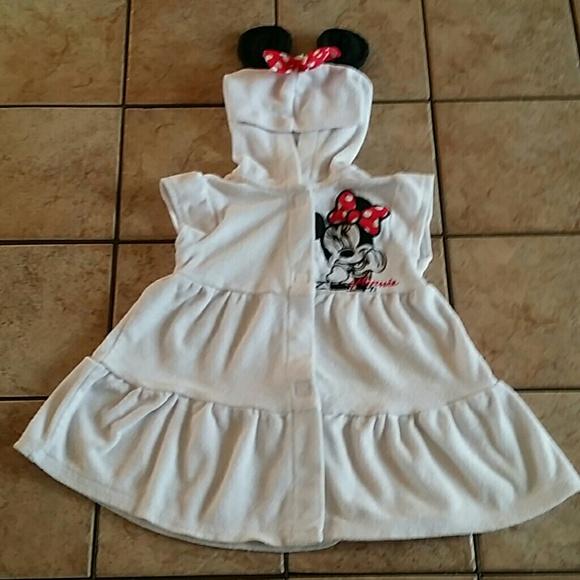 Disney Swim   Minnie Mouse Suit Coverup Sz 1824 Mo Guc   Poshmark